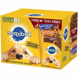 18 pouch variety wet dog food