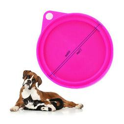 3pcs Tin Lids Can Covers For Dog Food Cat Random Color Safe