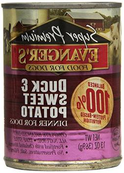 Evanger'S 776135 12-Pack Gold Sp Grain Free Duck And Sweet P