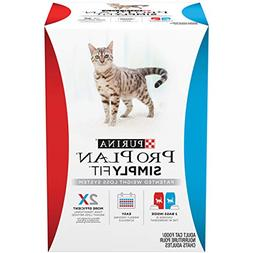 PURINA PRO PLAN SIMPLY FIT, PATENTED CAT WEIGHT LOSS SYSTEM,