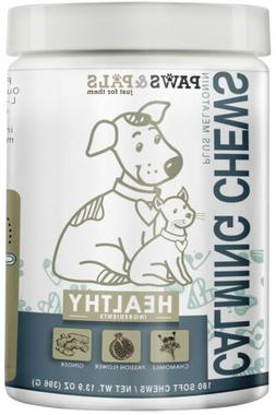 All Natural Calming Chews for Dogs Cats Soft Diet Fit Supple