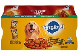 Adult Canned Wet Dog Food Variety Pack Country Stew and Chic