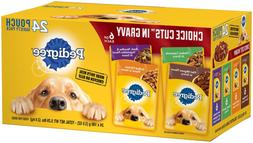 Pedigree Choice Cuts in Gravy  Wet Dog Food Variety Packs, 3
