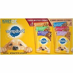 Pedigree Chopped Ground Dinner Cuts In Gravy Dog Food Pack 3
