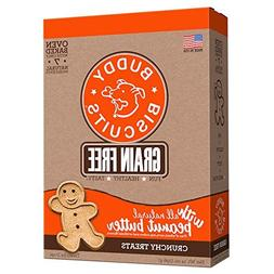 Grain Free Oven Baked Buddy Biscuits Dog Treats, Homestyle P