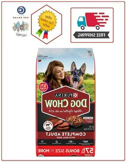 Purina Dog Chow Complete Adult Dry Dog Food, Beef