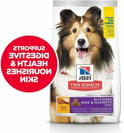 Hill's Science Diet Dry Dog Food, Adult, Sensitive Stomach &