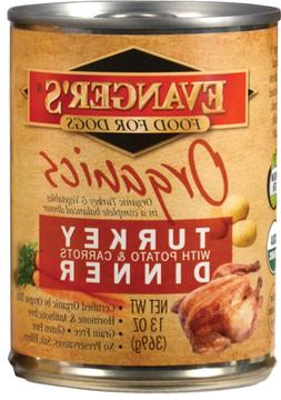 Evangers 100% Organic Turkey with Potato And Carrots Canned