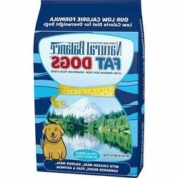 Natural Balance Fat Dogs Chicken Meal, Salmon Meal, Garbanzo