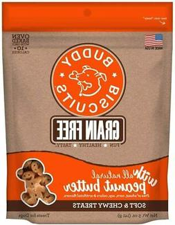 Buddy Biscuits Grain Free Soft & Chewy Dog Treats with All N