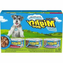 Purina Mighty Dog in Gravy Wet Dog Food Variety Pack -  5.5