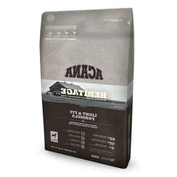 ACANA Heritage Light and Fit Low Glycemic Dry Dog Food 25 lb