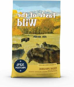 Taste of the Wild High Prairie Grain-Free Dry Dog Food, 28-l