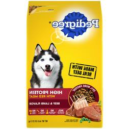 PEDIGREE High Protein Adult Dry Dog Food Beef and Lamb Flavo