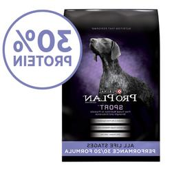 Purina Pro Plan High Protein Dry Dog Food SPORT Performance
