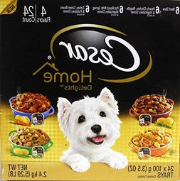 Cesar Home Wet Dog Food, Variety Pack Home-Style Recipes 3.5