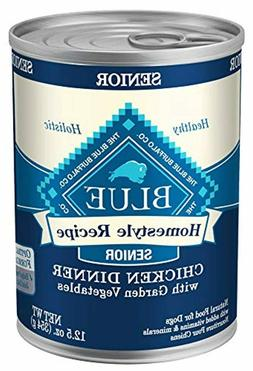 Blue Buffalo Homestyle Recipe Natural Senior Wet Dog Food, C