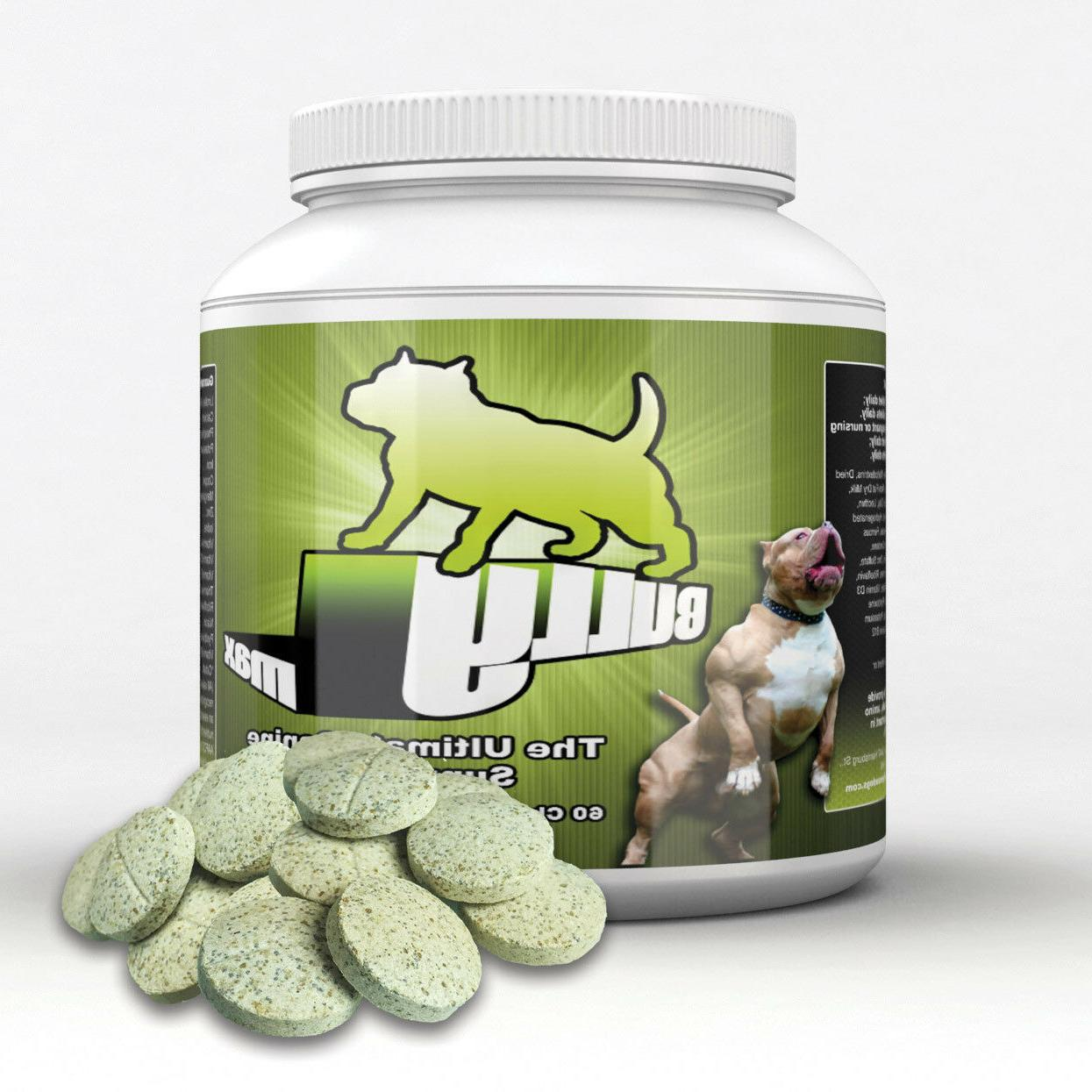 Bully-Max-Dog-Muscle-Vitamin-Supplement-Builder, 60 Tablets
