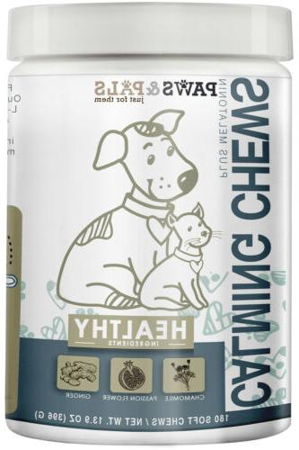 all natural calming chews for dogs cats