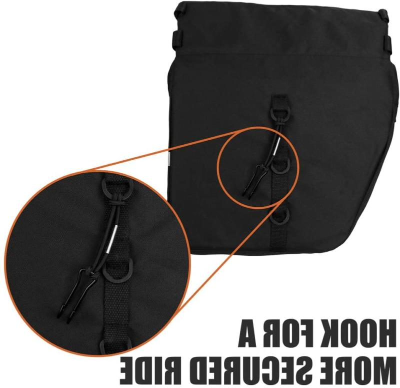 Bv Bicycle Panniers With Adjustable Carrying Reflective