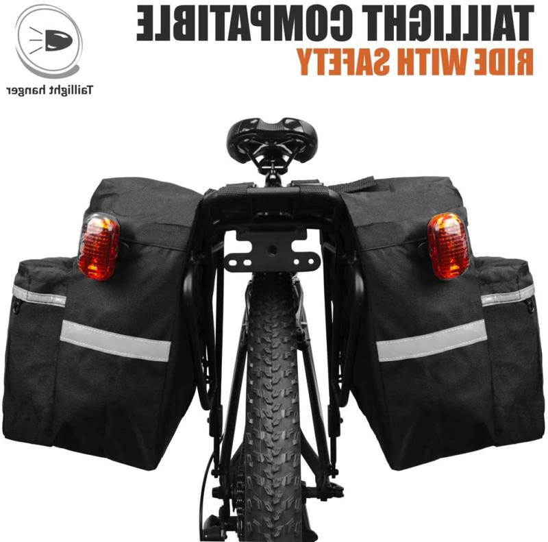 Panniers With Adjustable Hooks, Carrying Reflective