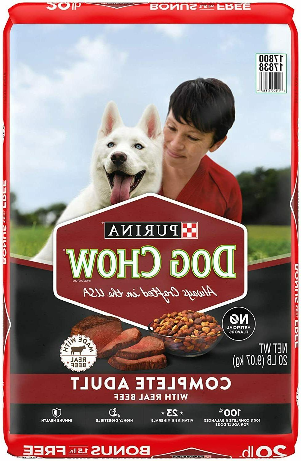 dog chow dry dog food complete adult