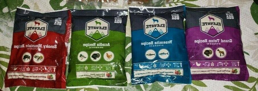 DOG FOOD PACK - 6 packages travel/snack food - NEW