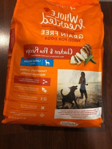 grain free dog food chicken and pea
