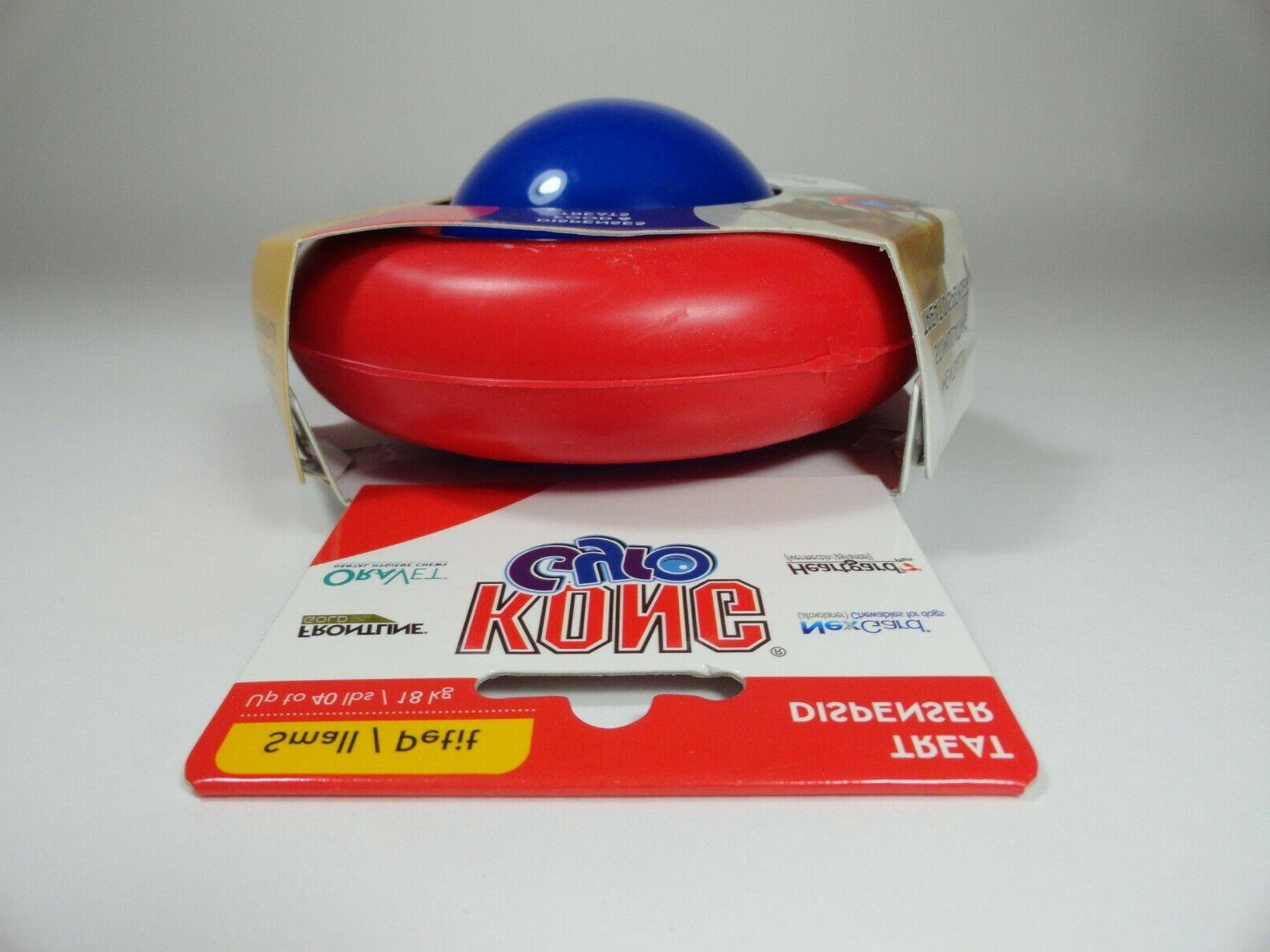 KONG Spin Treat Food Flip Toy Small Dog or