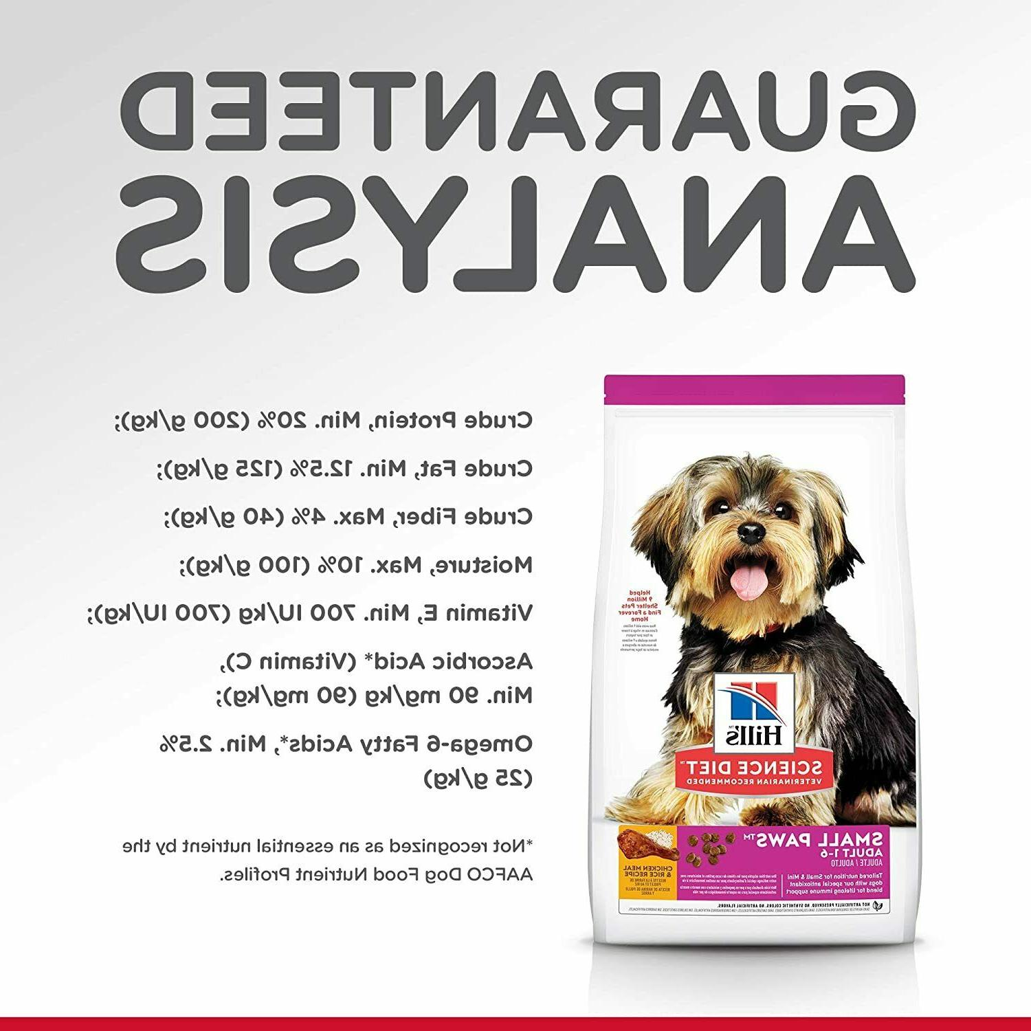 Hill's Diet Dog Small Paws for Small Breed Dogs 4.5