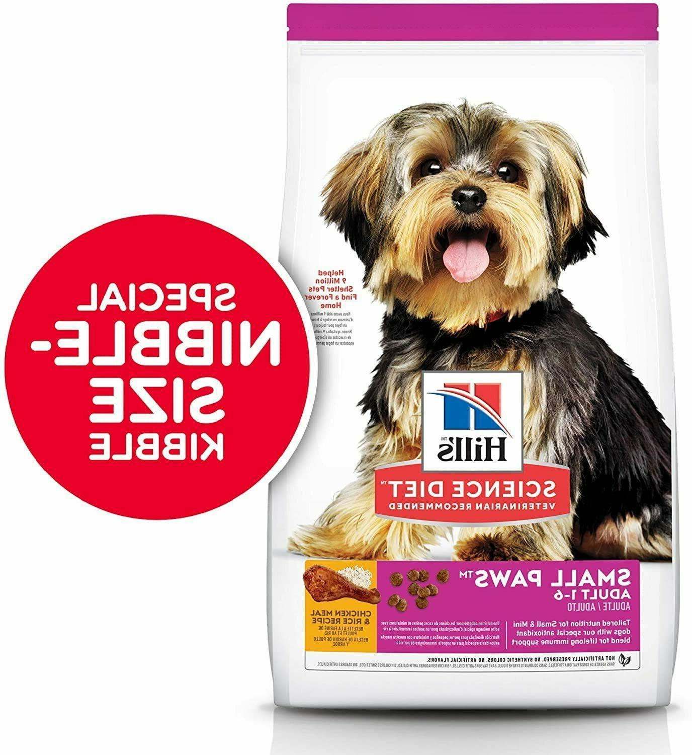 Hill's Science Dog Food, Small Paws Small Breed Dogs 4.5