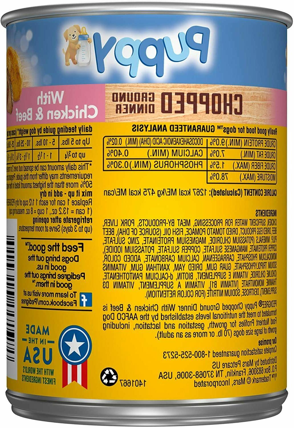 Pedigree Puppy Canned Food 13.2