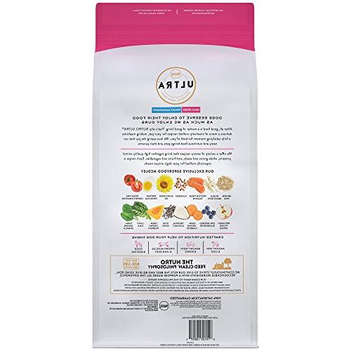 Nutro Adult Management Dry Dog Trio Proteins Chicken, And Salmon,
