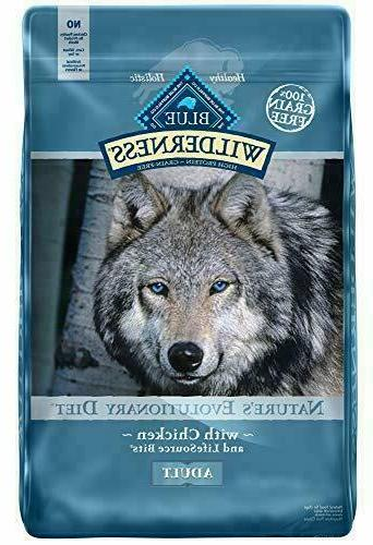 wilderness natural high protein adult dry dog