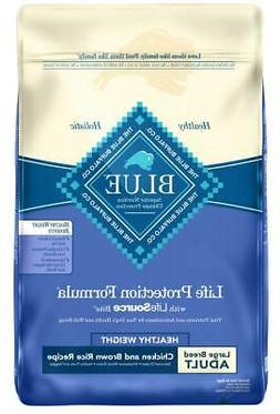 Blue Buffalo Large Breed Healthy Weight Chicken &Brown Rice
