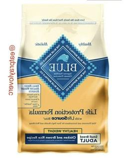 Blue Buffalo Life Protection Dog Food, Healthy Weight For Sm