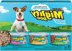 Purina Mighty Dog Small Breed Wet Dog Food Variety Pack,