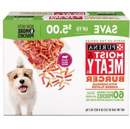 Purina Moist & Meaty Dog Food, Burger