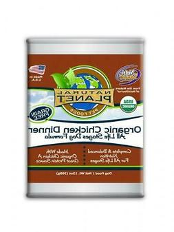 Natural Planet Organic Chicken Dinner Grain Free Canned Dog
