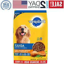 NEW  Adult Dry Dog Food - Roasted Chicken, Rice & Vegetable