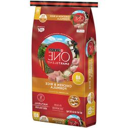 Purina  ONE SMARTBLEND  Chicken and Rice  Dry  Dog  Food  40