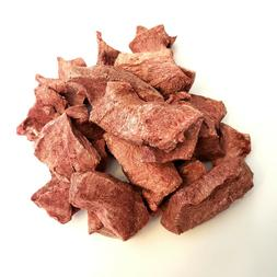 Dog Cat Treats RAW Beef Hearts Freeze Dried 100% Made in USA