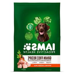 IAMS PROACTIVE HEALTH Adult Dry Dog Food Grain Free Recipe w