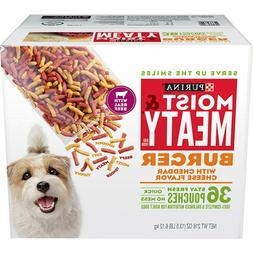 36-Piece Moist and Meaty Dry Dog Food Pouches