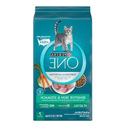 Purina ONE Sensitive Systems Adult Dry Cat Food - 7 lb. Bag