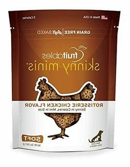 Fruitables Skinny Minis Rotisserie Chicken Soft & Chewy Dog