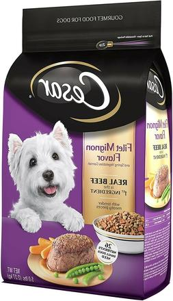 CESAR Small Breed Dry Dog FoodFilet MignonWith Spring Ve
