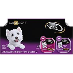 CESAR Soft Wet Dog Food Classic Loaf in Sauce Filet Mignon a