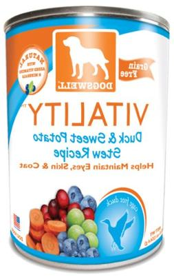 vitality canned dog food case