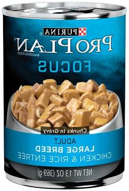Purina Pro Plan Wet Dog Food, Focus, Adult Large Breed Chick